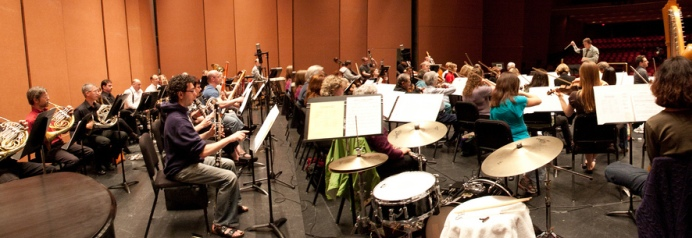 orch from stage right